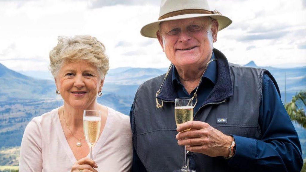 Margie and Ian Douglas of The Lime Caviar Company.