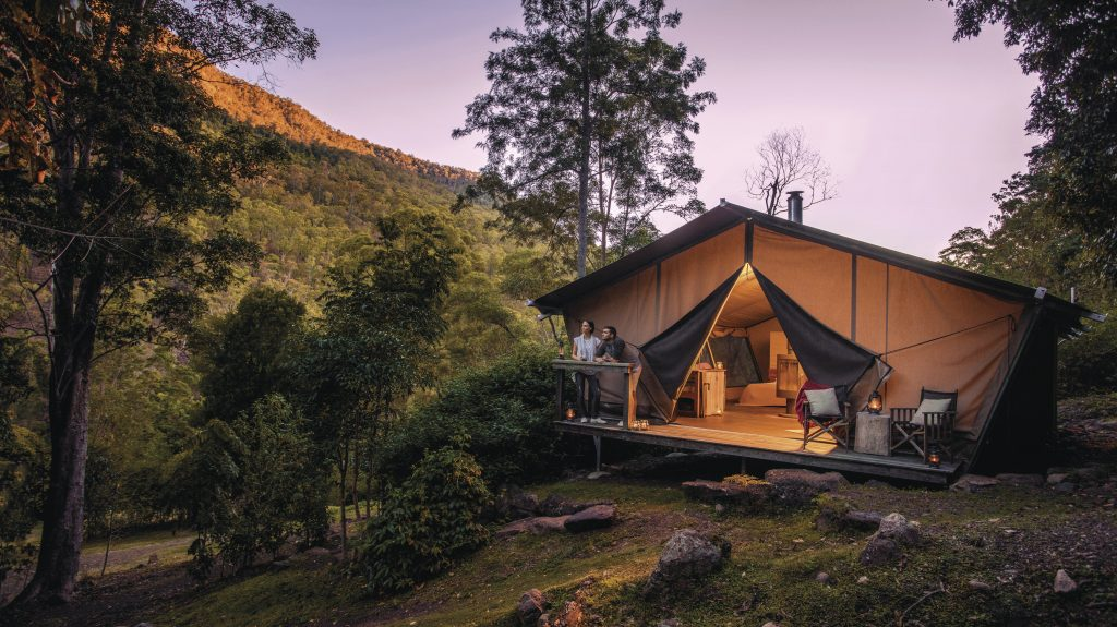Nightfall Camp. Photo by Kenny Smith for Tourism & Events Queensland.