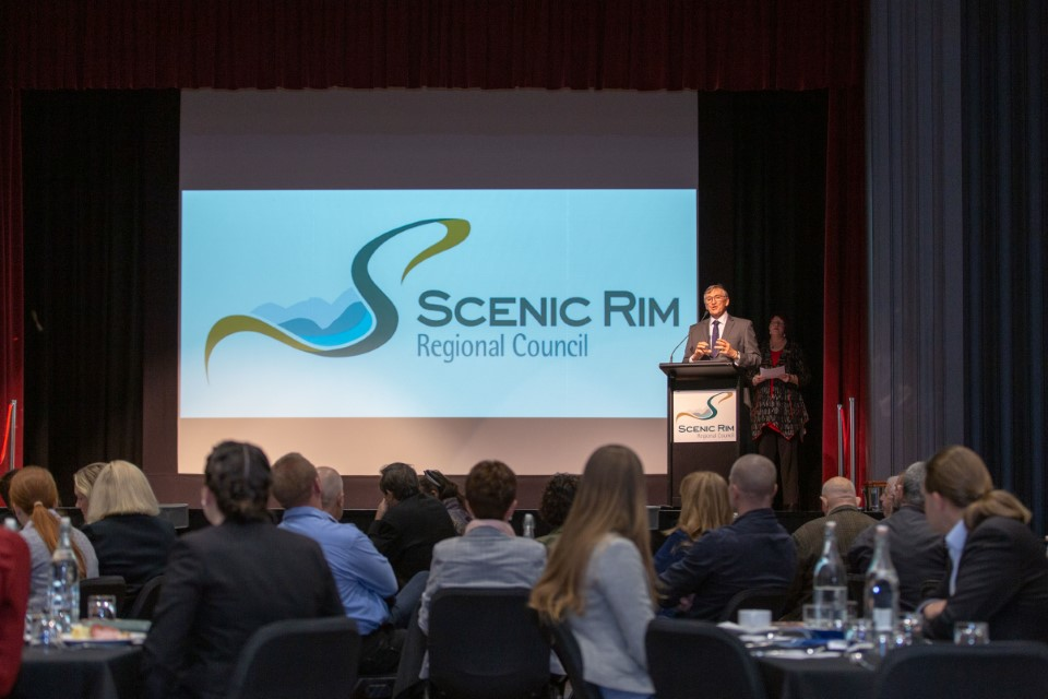 The 2019 Small Business Week Scenic Rim business breakfast.
