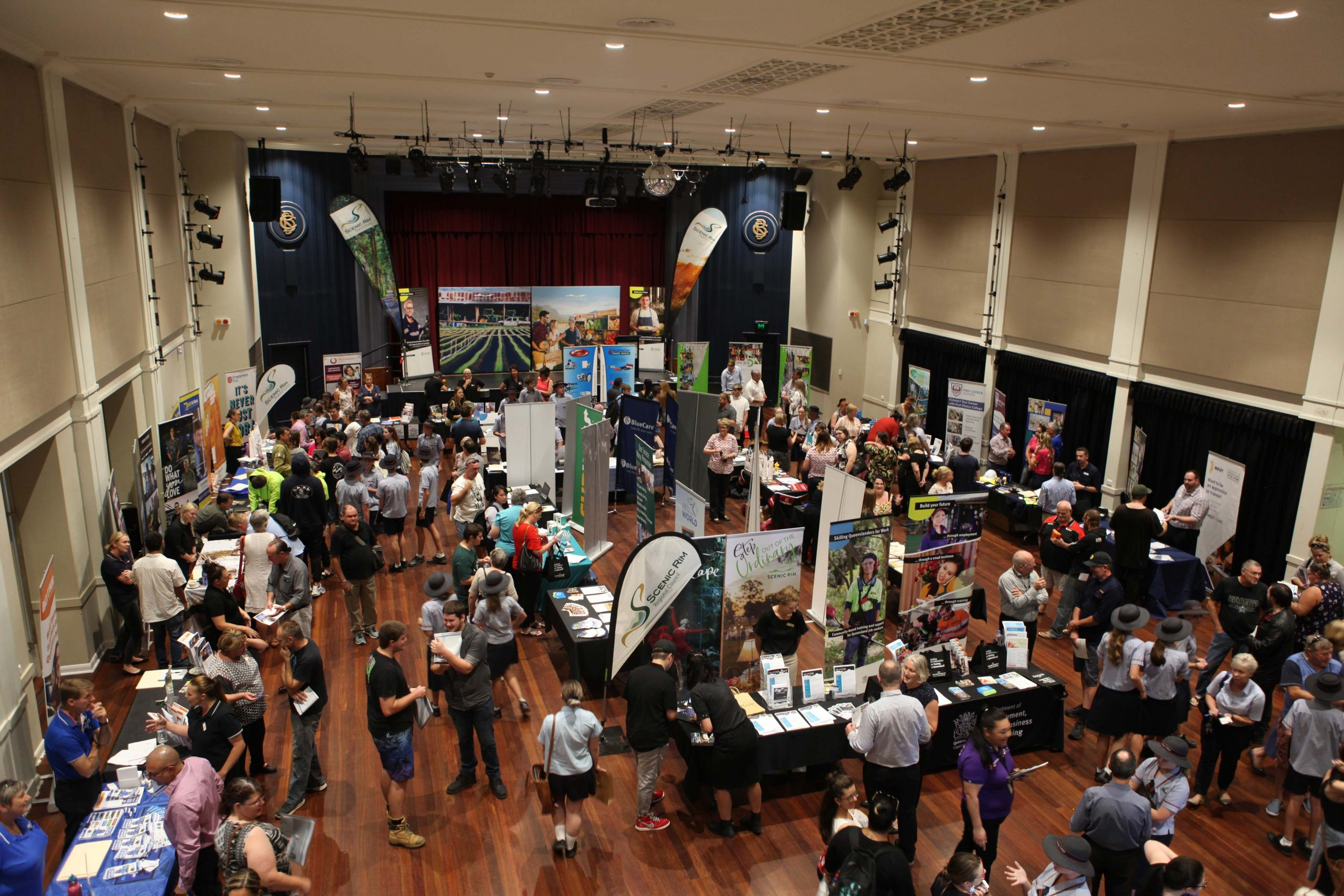 Hundreds of people attended Jobs and Skills Fest 2019.