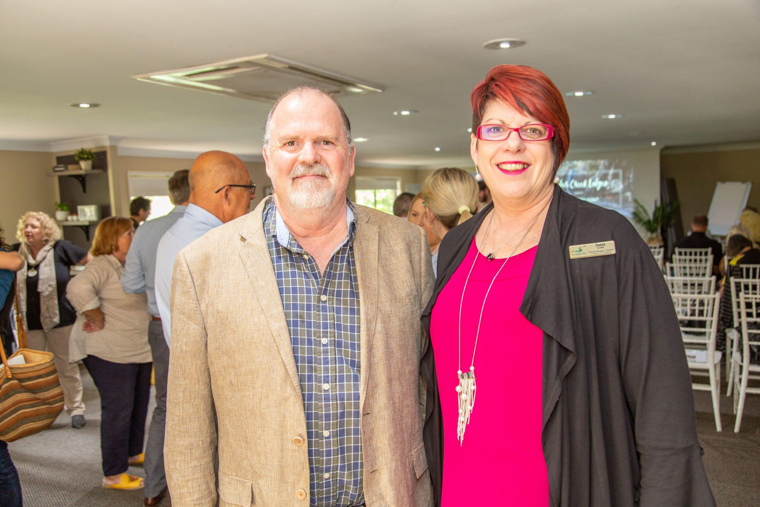 Brad Cox, Binna Burra Lodge, Debra Howe, Scenic Rim Regional Council.