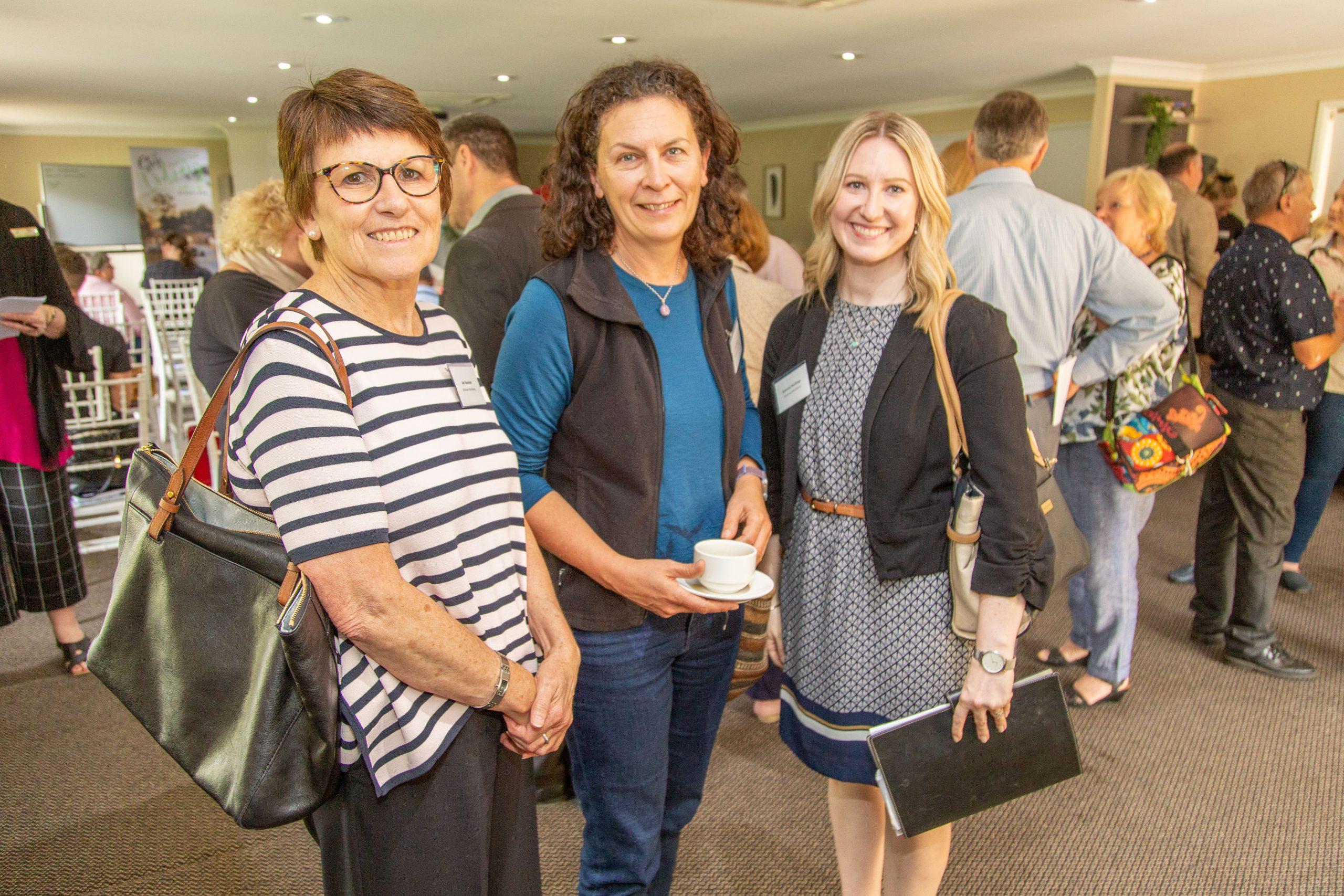 Lisa Groom, interNATIONAL PARKtours (centre), Jan Sommer and Gemma Haskings of Brisbane Marketing.