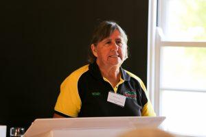 Wendy Harris of Scenic Rim Adventure Park. Tourism Showcase, Kalbar.