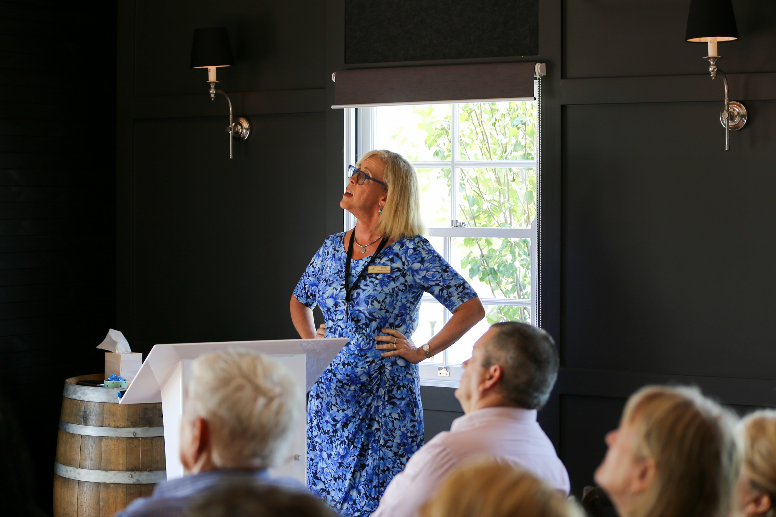 Brenda Walker of Scenic Rim Regional Council. Tourism Showcase, Kalbar.